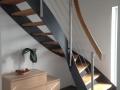 Stahlwangentr.-ES-Seilsystem-ES-Pfosten-Holzhandlauf-GH1